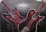schilderij-gitaren