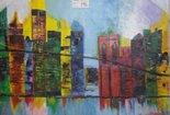 schilderij-New-York-abstract
