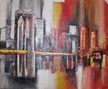 city-skyline-schilderij