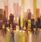 Abstract-schilderij