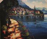 Lago-schilderij-painting
