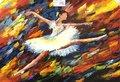schilderij-Ballet