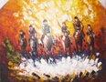 Polo-painting-schilderij